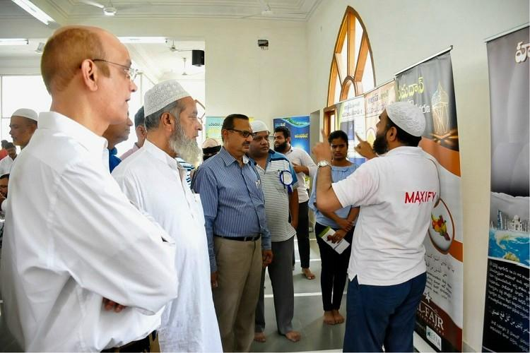Hyderabad mosque welcomes non-Muslims to witness namaz