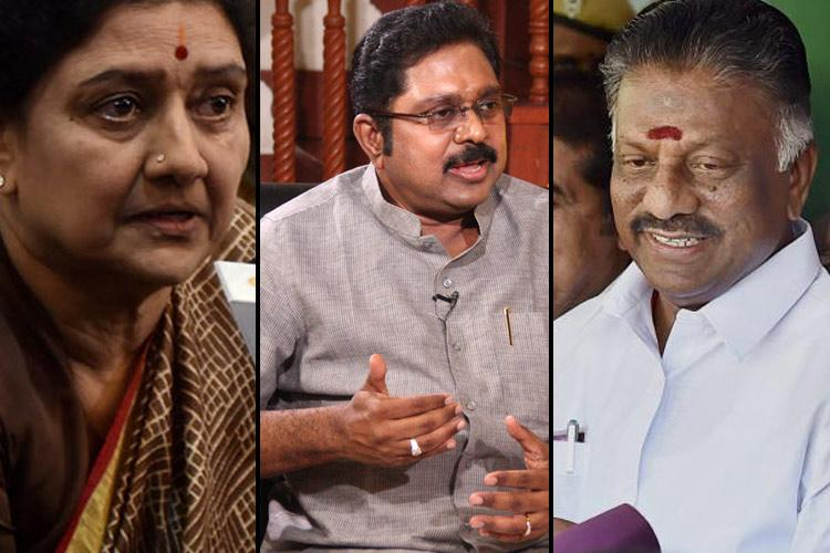 AIADMK has split into three factions says party leader KC Palanisamy