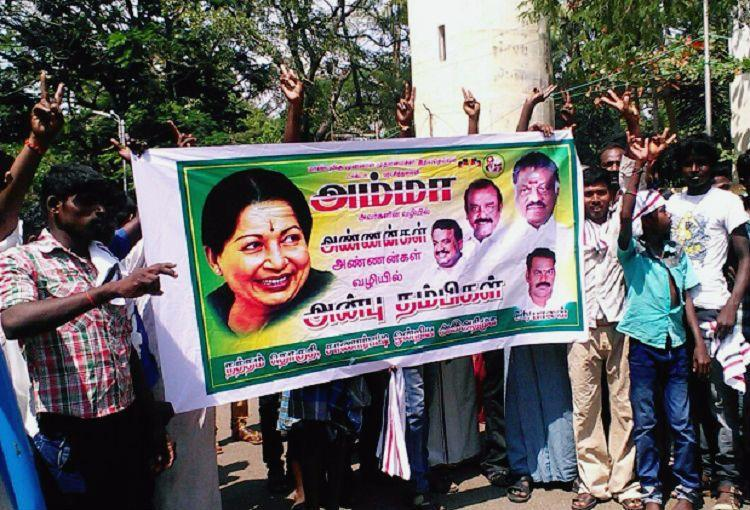 Sweets and crackers as OPS supporters erupt in joy after SC conviction of Sasikala in DA case