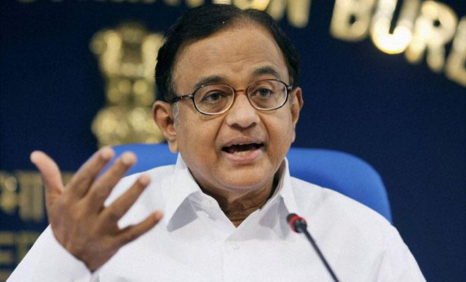 TN Guv can use discretionary powers to decline to swear in Sasikala as CM Chidambaram