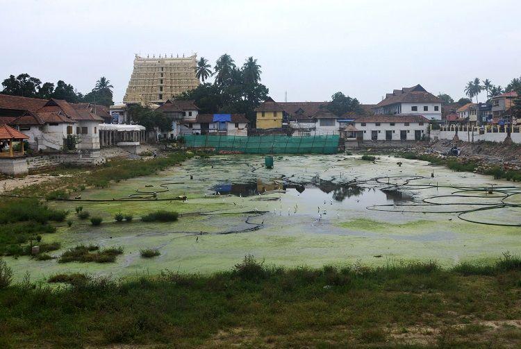 Padmanabhaswamy temple repairs Devotees allege reckless spending structural damage