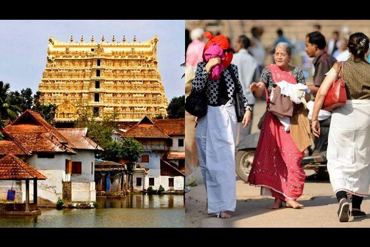 Not against churidars oppose autocratic move Supporters of HC stay in Padmanabhaswamy case