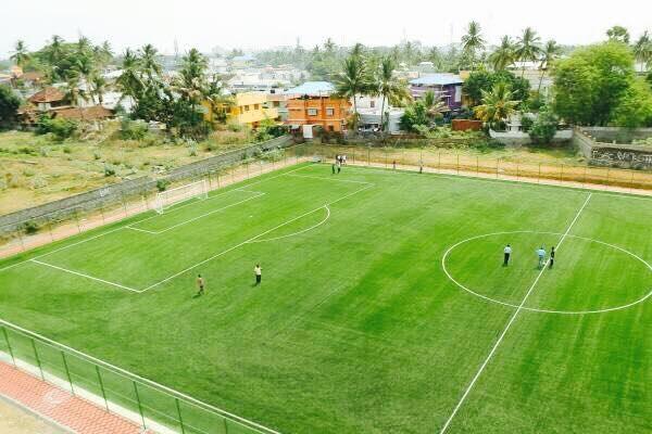 Palakkads Noorani Football Ground gets radical makeover into districts first turf stadium