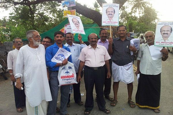 Independent candidate Anuvarudheen all set to take Palakkad forward in Kerala assembly polls