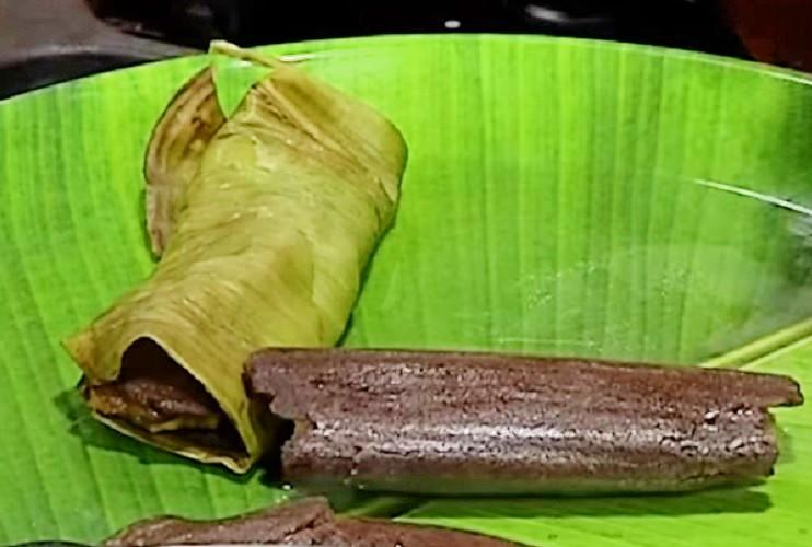Nutritional delights Love the kuzhakattai Cook them wrapped in palm leaves