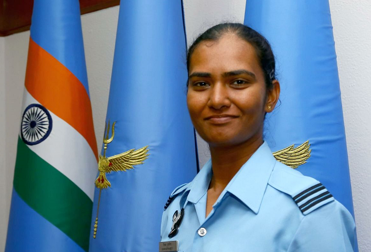 IAF officer and cricket star Meet the woman who fights for India on and off the field