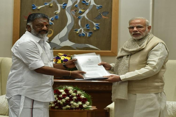 From Cauvery to Jallikattu O Panneerselvam gives long list of demands to PM Modi