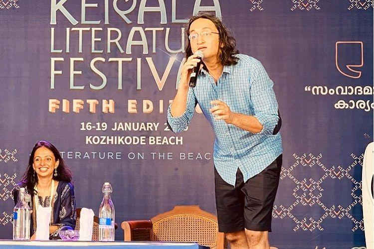 Stand-up comedian Papa CJs autobiography Naked released at Kerala Literature Fest