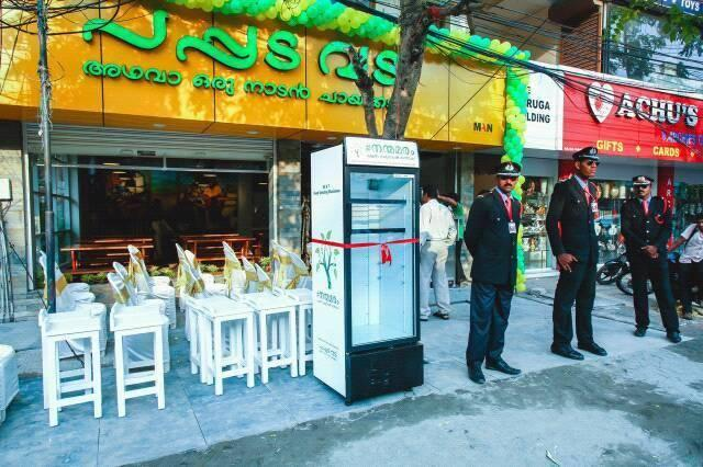 A Kochi restaurant keeps a public fridge to drop off excess food and its been full ever since