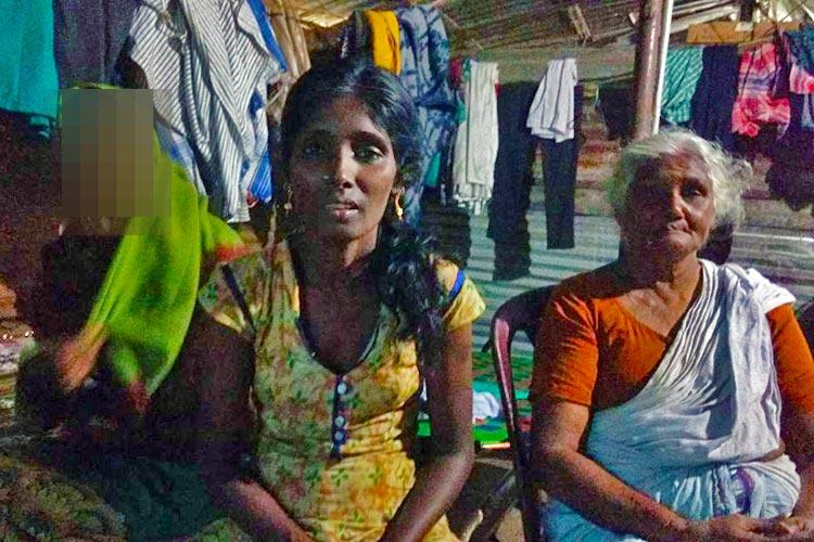 A 74-yr-old Kerala Dalit woman who is forced to stay up all night to keep granddaughters safe