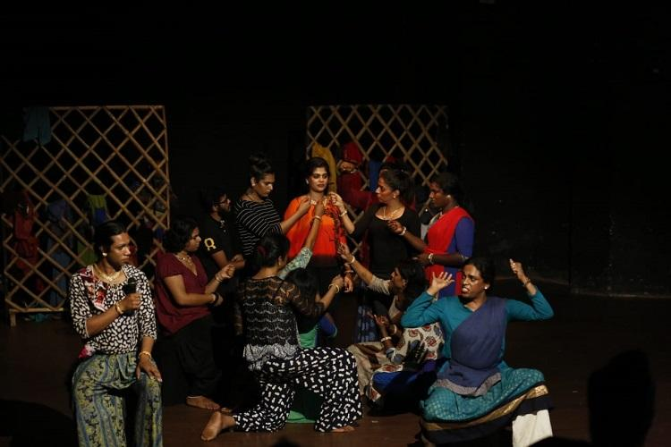 Keralas first play with all transgender cast revived after floods