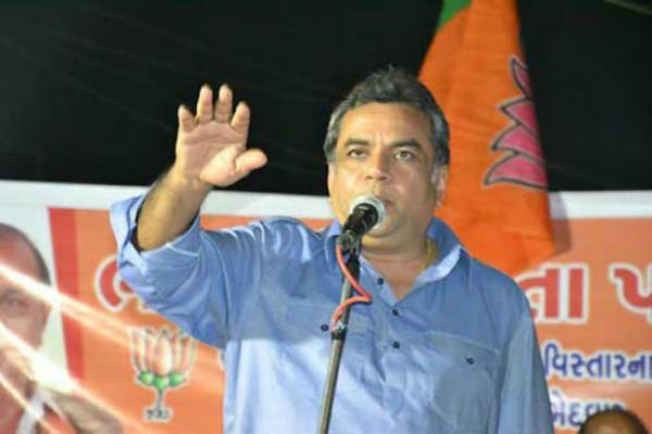 Forcing people to chant Bharat mata ki jai inappropriate says Paresh Rawal