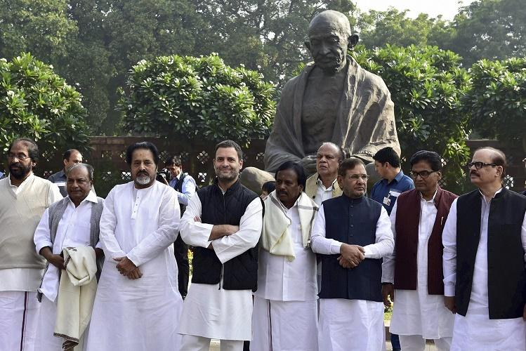 Opposition parties call for nationwide protest against demonetisation on November 28