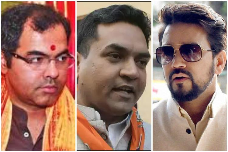 Delhi police claims it hasnt seen Kapil Mishra video HC plays it out in court