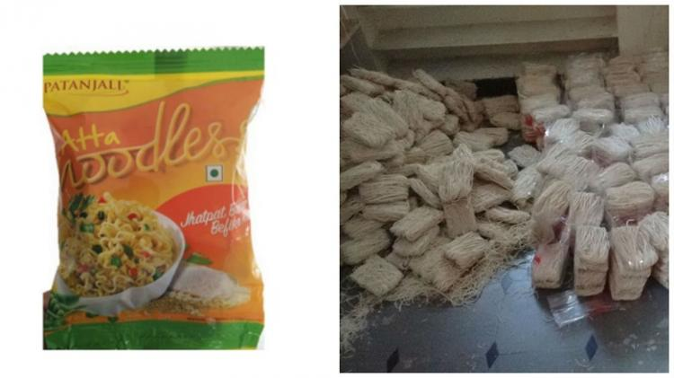 Baba Ramdevs noodles seem so popular that Hyderabad is flooded with fake ones