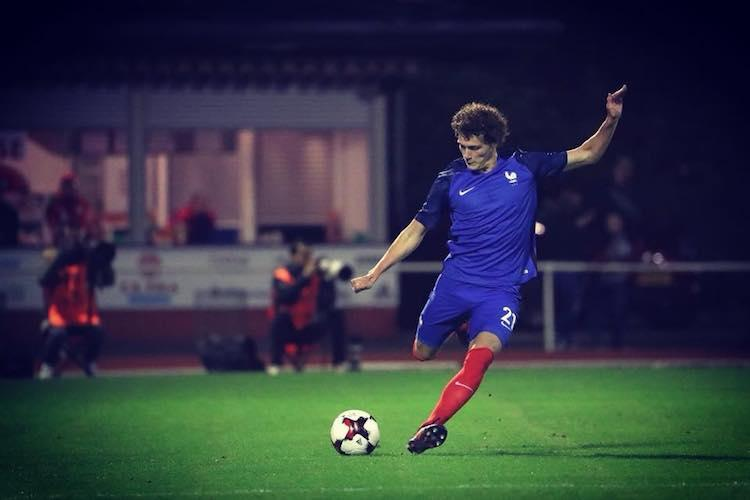 Benjamin Pavards super strike wins goal of the tournament for FIFA World Cup