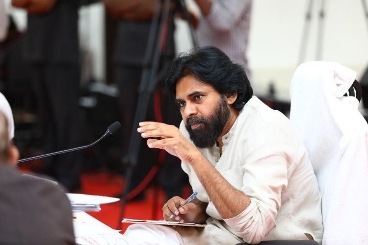 Andhra capital should be in Amaravati we stand by farmers Pawan Kalyan