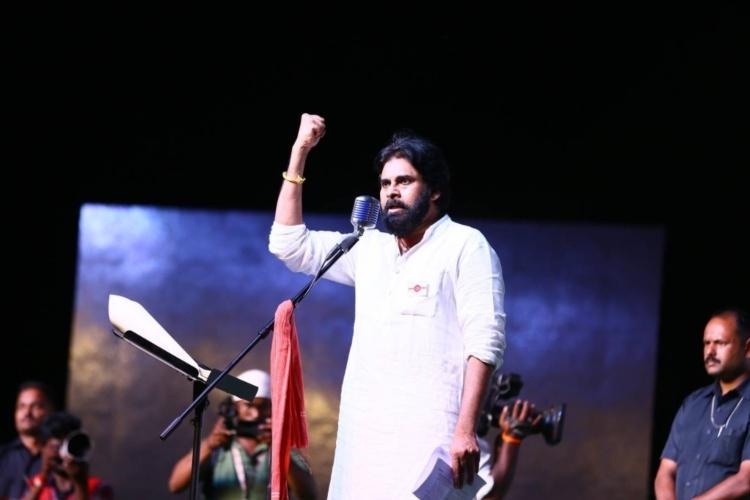 AP Assembly Jana Sena chief Pawan Kalyan to contest from Bhimavaram and Gajuwaka