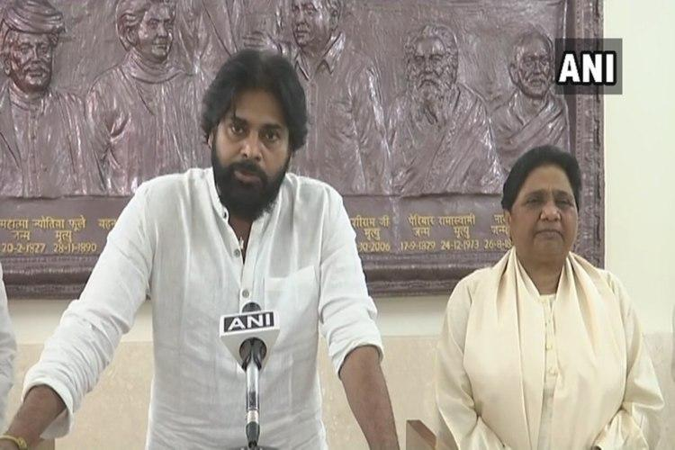 Pawan Kalyan announces alliance with BSP in Telangana and Andhra Pradesh