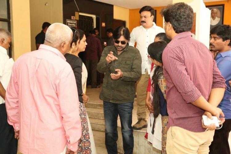 Sri Reddy row Pawan Kalyan meets film artists demands action from association