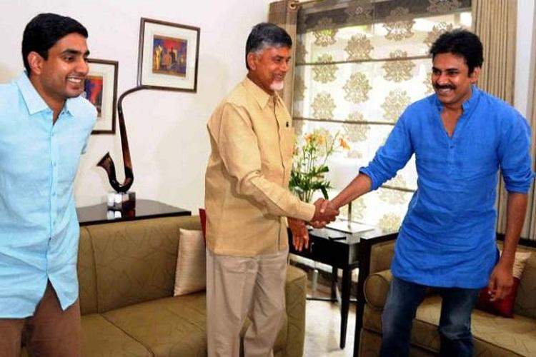 Told Pawan to join fight against BJP AP CM hints at re-alliance with Jana Sena