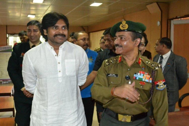 JSP chief Pawan Kalyan donates Rs 1 crore for Army mens welfare
