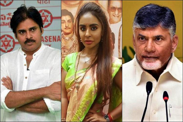 Sri Reddy who SHAMES TELUGU has PRAISED TAMIL