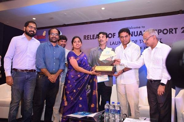 Three T-Hub startups bag Telangana State Formation Day Awards under the startup category
