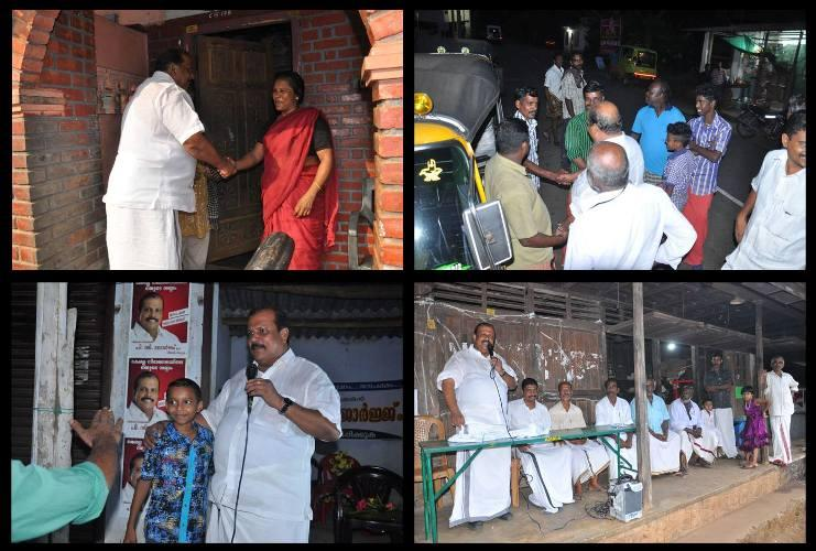 Political outlaw PC George ensures high voltage four-cornered electoral contest at Poonjar in Kottayam