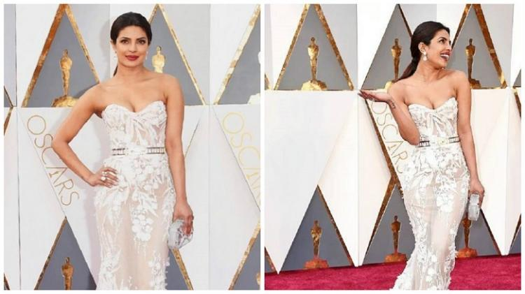In pictures A gorgeous Priyanka Chopra dressed to kill at the Oscars