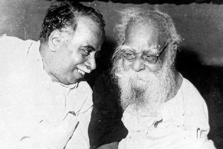 Periyar and Anna: The conflict over electoral politics | The News Minute