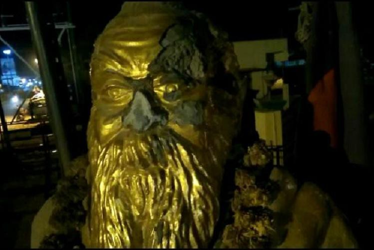 Periyar statue vandalised in Tamil Nadu hours after post on BJP leaders FB page