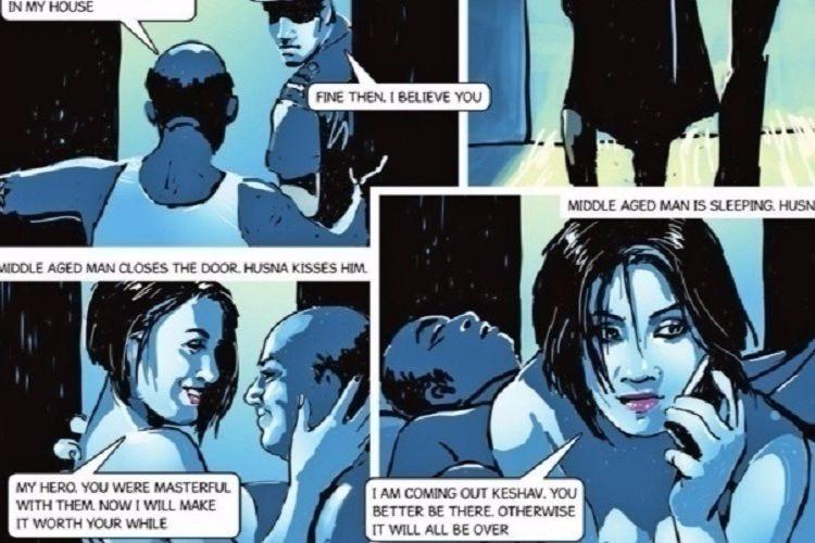 Mother of two starts petition asking TOI to stop publishing graphic novel with sexual content