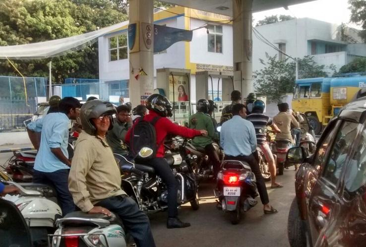 53000 petrol pumps across India to remain shut on Friday demanding inclusion under GST