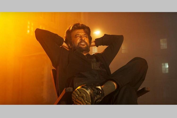 Rajini seen in the poster of Karthik Subbarajs Petta