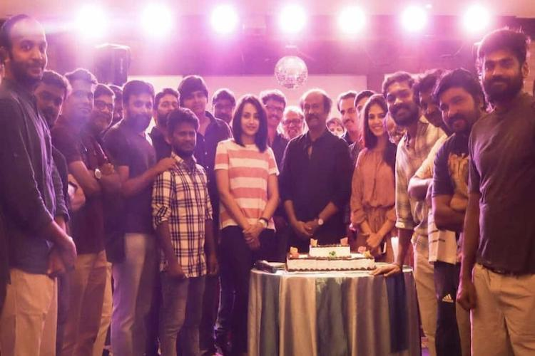 Petta wrapped up 15 days ahead of schedule Rajini thanks team