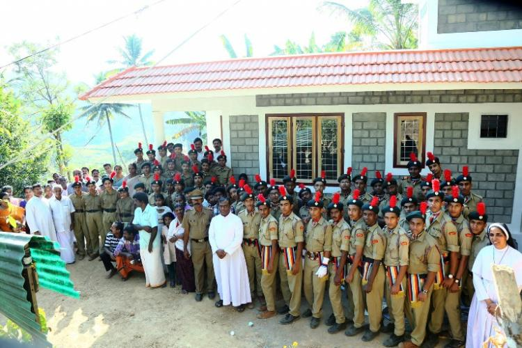 Meet the NCC unit from a Kerala school that built houses for poor classmates