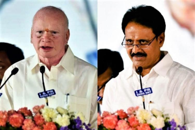 Andhra ex Ministers Pilli Subhash Chabdra Bose Mopidevi