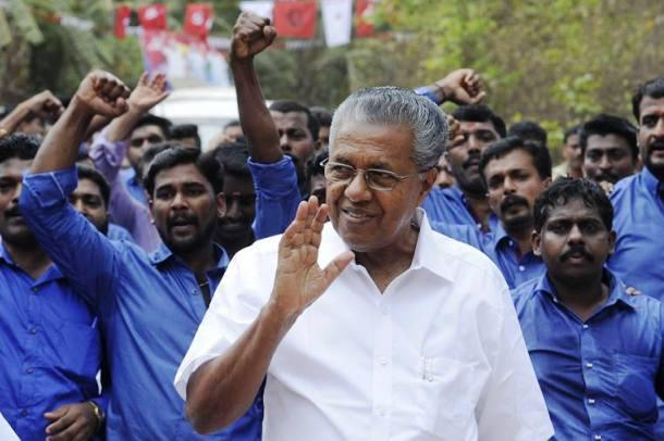 Kerala CM meets Indian workers at Dubai labour camp