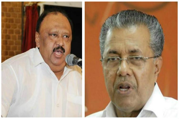 Pinarayi goes slow on action against tainted Kerala minister Thomas Chandy