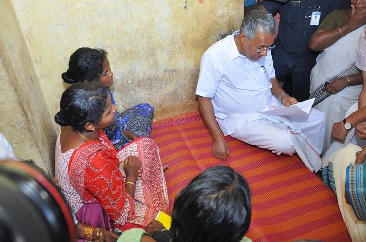 Kerala CM Pinarayi visits Madhus family announces setting up of care homes