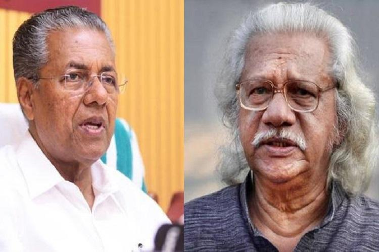 Will BJP send all who dissent to the moon Kerala CM Cong leaders support Adoor