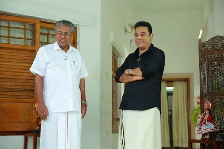 Kamal Haasan Vijay TV donate Rs 25 lakh each for Kerala floods