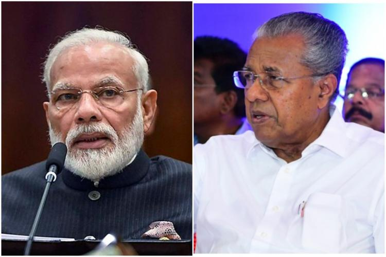Kerala CM requests PM Modi to change norms regarding PM CARES fund