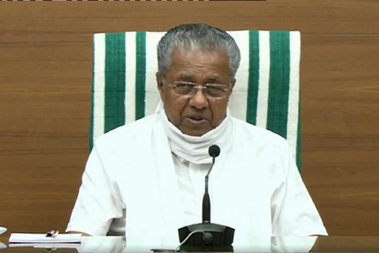 Kerala Chief Minister reiterated that the state has no community spread of coronavirus
