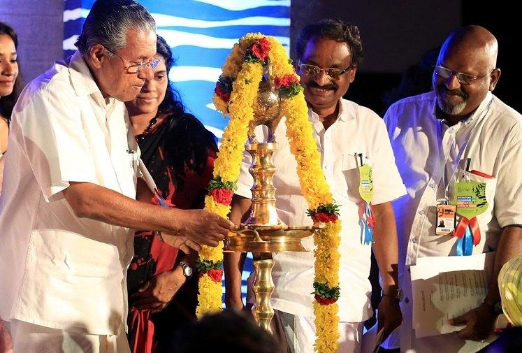 Nothing wrong in lighting lamps at govt events says Kerala CM