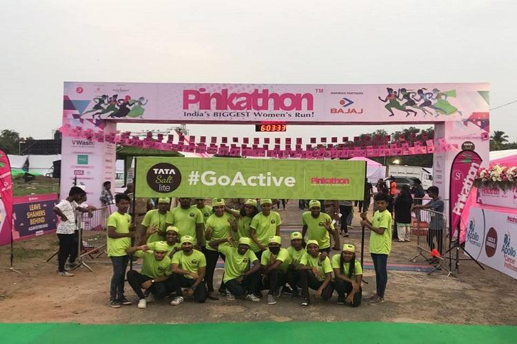 Pinkathon Chennai causes frustrating traffic woes passengers miss trains from Central