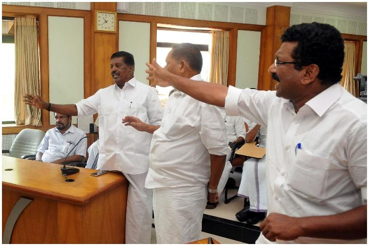 Kannur murder Miffed Congress-led UDF walks out of all-party peace meet