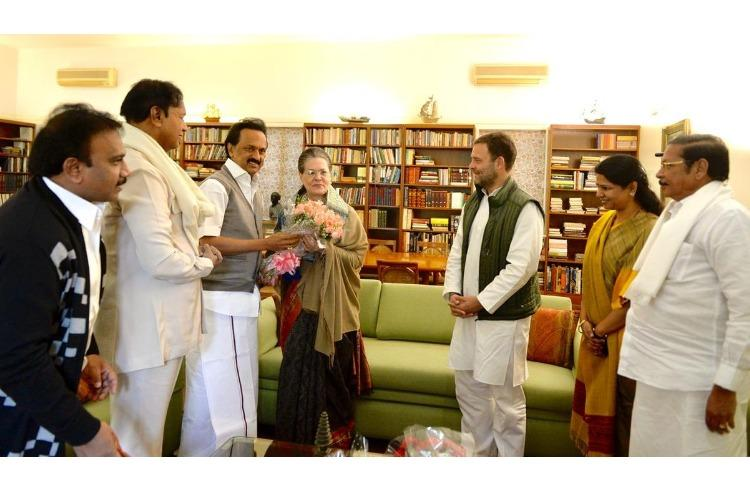 Stalin wishes Sonia Gandhi on birthday invites Cong top brass for Kalaignar statue unveiling