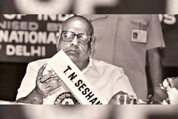 Indias most impactful Election Commissioner TN Seshan passes away